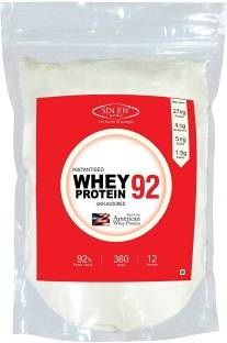 Sinew Nutrition Instantised Whey Protein 92 (360gm, Unflavoured)
