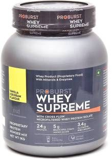 Proburst Whey Supreme Protein (2Kg, Vanilla)