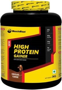 MuscleBlaze High Protein Elite Lean Mass Gainer (3Kg, Chocolate)