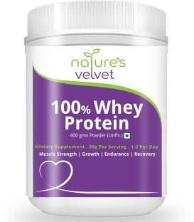 Natures Velvet Lifecare Whey Protein (400gm, Natural)