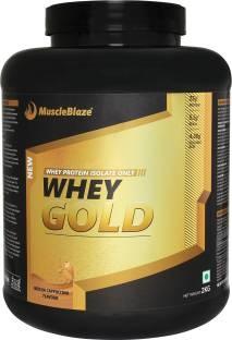 MuscleBlaze Whey Gold Protein (2Kg, Mocha)