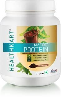 Healthkart My First Protein With Whey & Casein (1Kg, Chocolate)