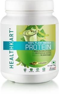 Healthkart 100% Plant Protein (1Kg, Cardamom)