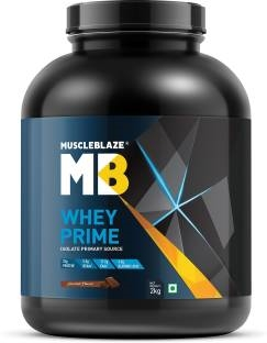 MuscleBlaze Whey Prime Protein Isolate Primary Source (2Kg, Chocolate)