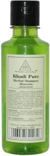Khadi Pure Herbal Aloevera Shampoo, 210 ML