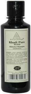 Khadi Pure Herbal Shikakai Shampoo 210ml
