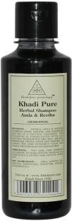 Khadi Pure Herbal Amla and Reetha Shampoo 210ml