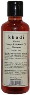 Khadi Herbal Honey and Almond Oil Shampoo 210ml