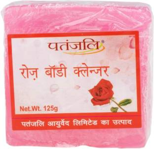 Patanjali Rose Body Cleanser Soap125 g
