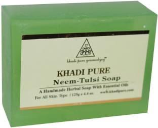 Khadi Pure Herbal Neem Tulsi Soap 125 GM