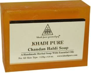 Khadi Pure Chandan Haldi Soap 125 GM
