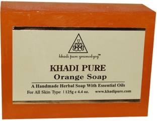 Khadi Pure Orange Soap 125 GM