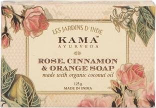 Kama Ayurveda Rose Cinnamon & Orange Soap 125 GM