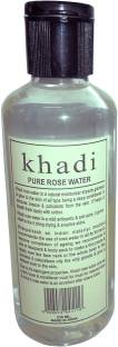 Khadi Pure Herbal Rose Water 210ml