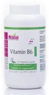 Zenith Nutrition Vitamin B6 Supplements (300 Capsules)