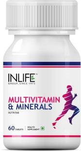 Inlife Multi Vitamin And Multi Minerals (60 Capsules)