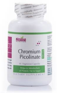Zenith Nutrition Chromium Picolinate 800 mg Supplements (120 Capsules)