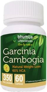 Bhumija Lifesciences Garcinia Cambogia Capsules For Fat Burner 350 mg (60 Capsules)