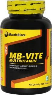 MuscleBlaze MB-Vite Multivitamin Supplement (60 Capsules)