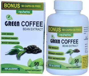 Neuherbs Green Coffee Bean Extract Supplement (90 Capsules)