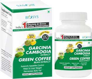 Biosys Garcinia Cambogia And Green Coffee Extract Combination (60 Capsules)
