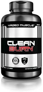 Kaged Muscle Clean Burn Unflavoured (180 Capsules)