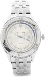 Titan Octane NF9324SM02 Analogue White Dial Men's watch (NF9324SM02)