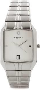 Titan NH9264SM01 White Dial Analog Men's Watch (NH9264SM01)