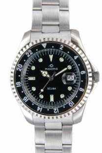 Maxima 00454CMGI Attivo Analog Black Dial Men's Watch