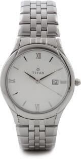 Titan NH1494SM01 Analogue Silver Dial Men's Watch (NH1494SM01)