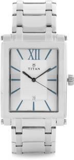 Titan NH9327SM01 Quartz Analog White Dial Men's Watch (NH9327SM01)