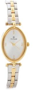 Titan Karishma NH2418BM01 Analog Silver Dial Women's Watch (NH2418BM01)