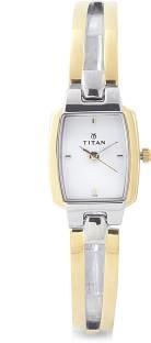 Titan Karishma NH2131BM01 Analog White Dial Women's Watch (NH2131BM01)
