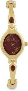 Titan Raga NH2387YM07 Analog Red Dial Women's Watch (NH2387YM07)