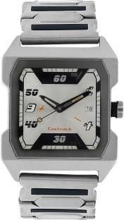Fastrack NG1474SM01 Analog Silver Dial Men's Watch (NG1474SM01)