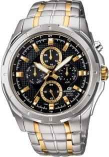Casio Edifice EF-328SG-1AVDF (ED377) Chronograph Black Dial Men's Watch (EF-328SG-1AVDF (ED377))