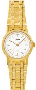 Timex B303 Classics Analog White Dial Women's Watch (B303)