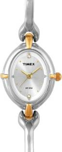 Timex LK21 Classics Analog Silver Dial Women's Watch (LK21)