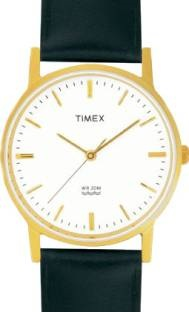 Timex A300 Classics Analog White Dial Men's Watch (A300)