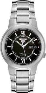 Seiko SNKA23K1 Analog Black Dial Stainless Steel Men's Watch (SNKA23K1)