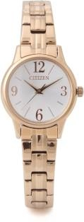 Citizen EX0293-51A Analog White Dial Women's Watch (EX0293-51A)