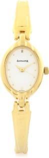 Sonata ND8048YM01 Bracelet Analog White Dial Women's Watch (ND8048YM01)