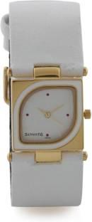 Sonata ND8919YL02 Analog Yuva Gold White Dial Women's Watch (ND8919YL02)