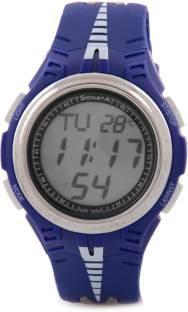 Sonata NH7965PP01J Super Fibre Digital Grey Dial Men's Watch (NH7965PP01J)