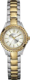 Guess W11068L2 Round Dial Analog Women's Watch (W11068L2)