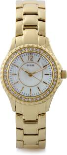Guess I11068L1 Candy White Dial Analog Women's Watch (I11068L1)