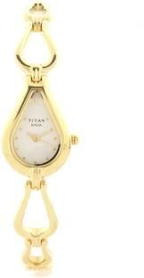 Titan Raga NE2333YM01 Analog White Dial Women's Watch (NE2333YM01)
