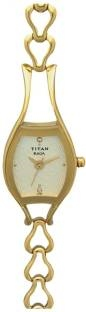 Titan NF2331YM02 Analog Champagne Dial Women's Watch (NF2331YM02)