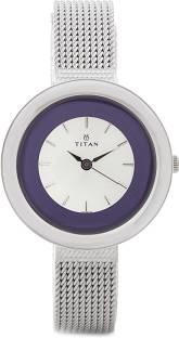 Titan Purple NH2482SM01 Analog Purple Dial Women's Watch (NH2482SM01)