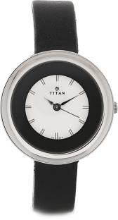 Titan Youth NF2482SL02 Analog White Dial Women's Watch (NF2482SL02)